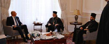Συνάντηση του Υπουργού Εξωτερικών με τον Αρχιεπίσκοπο Θυατείρων