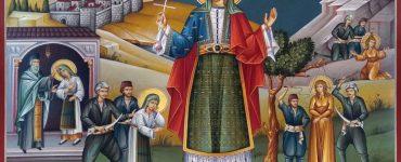 Πανήγυρις Αγίας Χρυσής στον τόπο του Μαρτυρίου Της