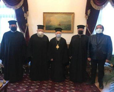 Ο Κυδωνίας Δαμασκηνός στον Οικουμενικό Πατριάρχη