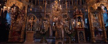 Ο Σταγών και Μετεώρων Θεόκλητος στην Ιερά Μονή Ξενοφώντος Αγίου Όρους