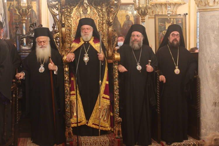 Ενθρόνιση νέου Ηγουμένου στην Ιερά Μονή Παναγίας Τουρλιανής