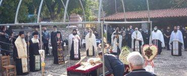 Εξόδιος ακολουθία μακαριστού Ηγουμένου Ιεράς Μονής Προφήτου Ηλιού Ασωπίας (Τσάτσαρι)