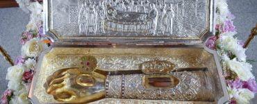 Λείψανο Αγίου Δημητρίου στην Παναγία Δοβρά Βεροίας