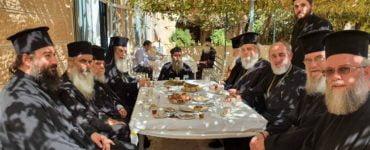 Ο Πατριάρχης Ιεροσολύμων στην Ιερά Μονή Οσίου Θεοδοσίου του Κοινουβιάρχου
