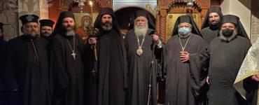 Μοναχική κουρά στην Ιερά Μονή Γενεσίου της Θεοτόκου Ιωνίας Θεσσαλονίκης